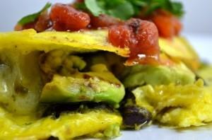 Egg, Beans, Salsa, Avocado, Oh My!