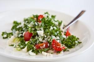 Cauliflower Kale Salad