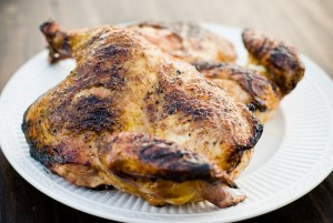 Aromatic Whole Grilled Chicken